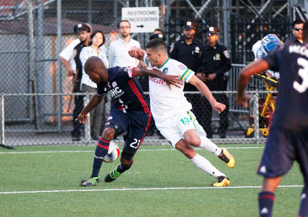 NY Cosmos Lose 3-2 To NE Revolution In US Open Cup