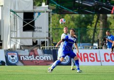 Cosmos Lose To Late Goal In Edmonton