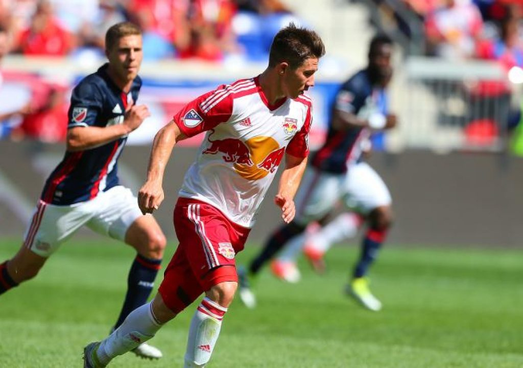 NY Red Bulls Defeat New England Revs To Continue Unbeaten Run