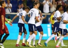 Spurs Fall 3-2 To Roma At Red Bull Arena