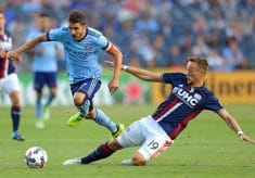 NYCFC Beat New England Revs 2-1