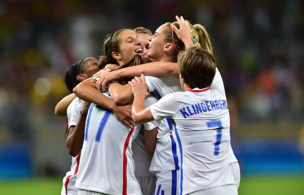 USA Women Beat France 1-0 At Olympic Games