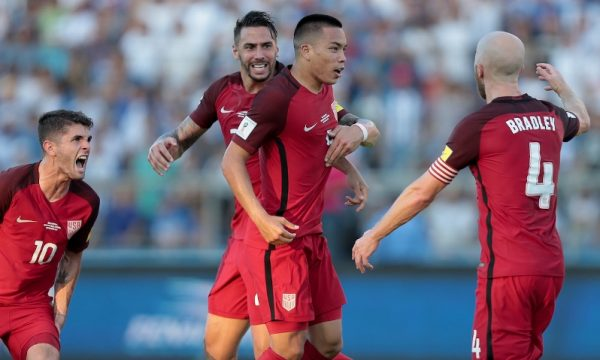 US Drop To Fourth Place In World Cup Qualifying