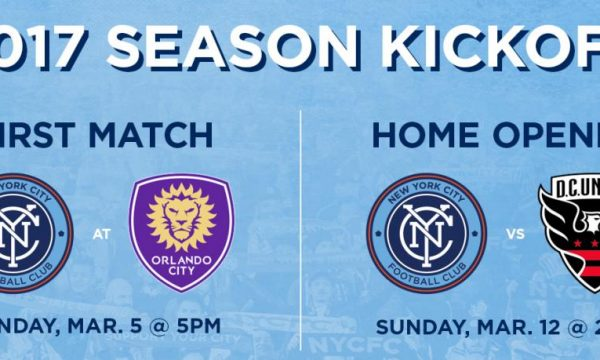 NYCFC Host DC United In Home Opener 2017