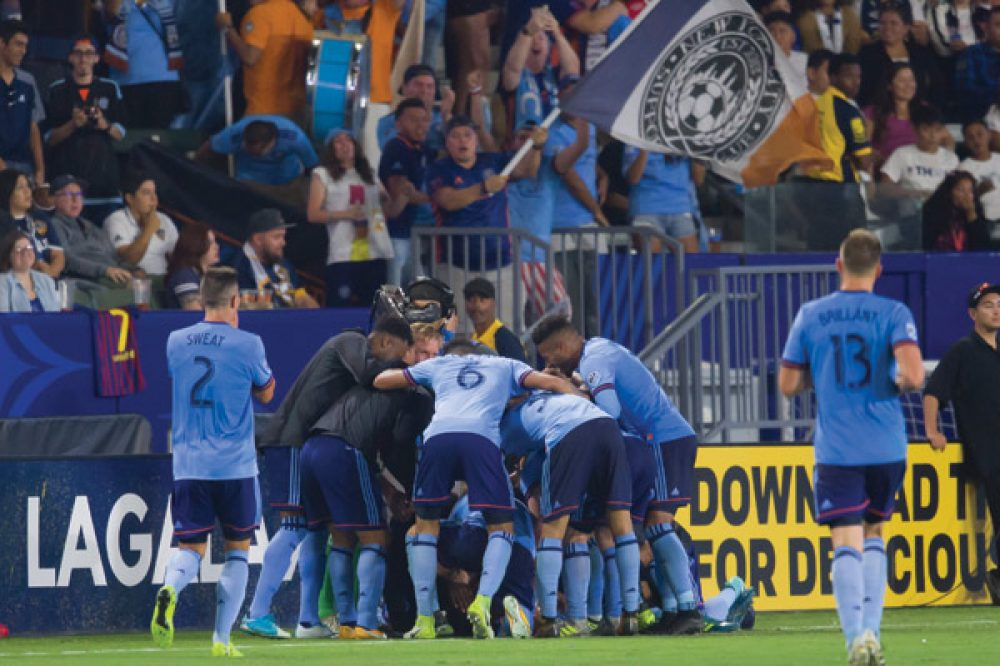 NYCFC Up To Second Place With 2-0 Win Over Galaxy