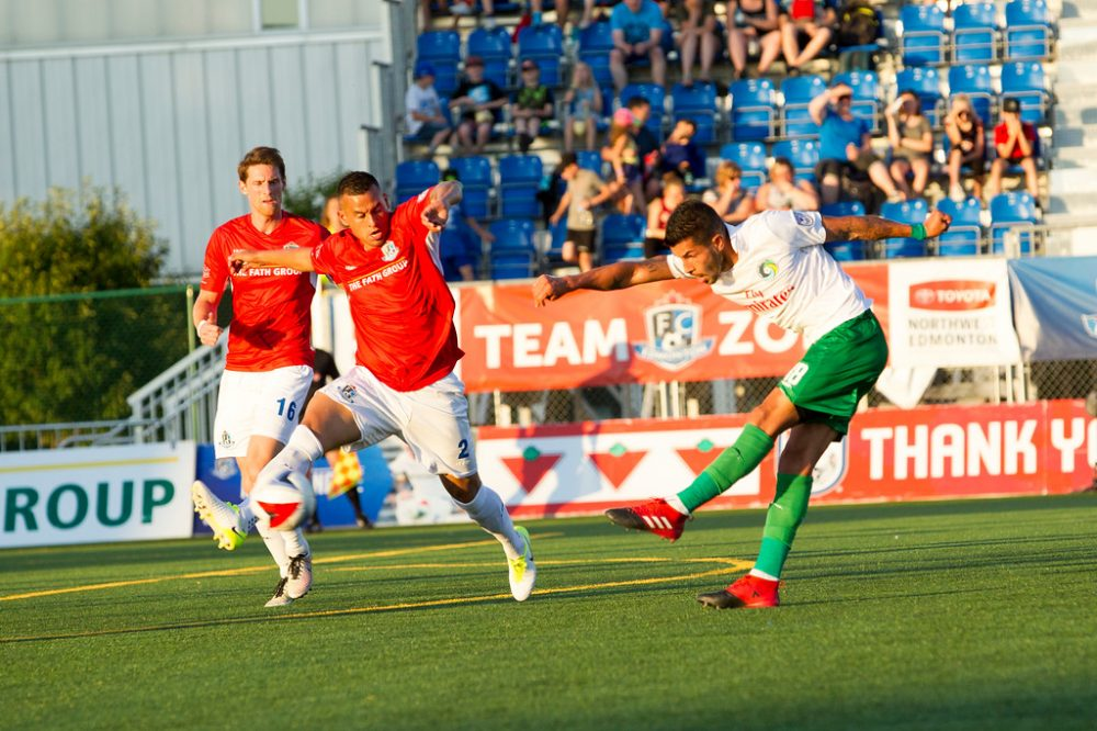 Cosmos Tie With Edmonton In Canada