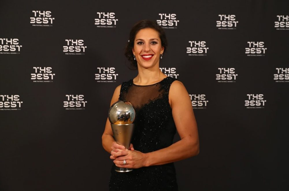Carli Lloyd Wins FIFA Women's Player For Second Consecutive Year