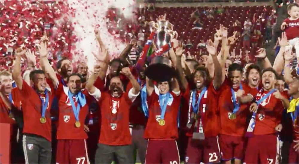 Dallas Claim US Open Cup With 4-2 Win Over N.E. Revs