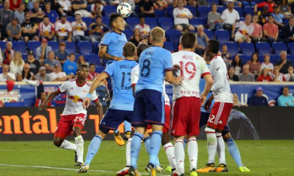 NYCFC And Red Bulls Tie 1-1