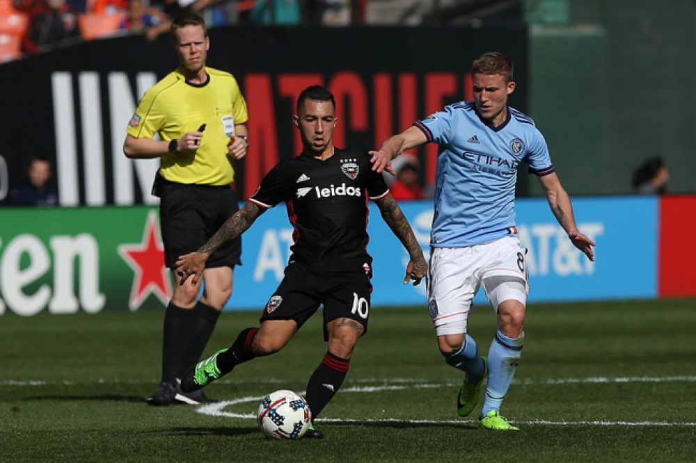 NYCFC Lose 2-1 To DC United