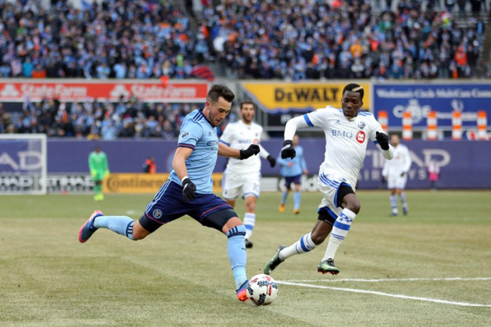 NYCFC Tie 1-1 With Montreal Impact