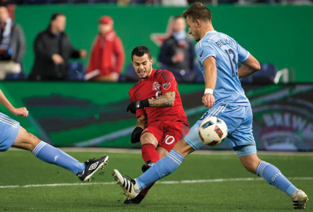 NYCFC Trounced By Toronto In Play-Off At Yankee Stadium