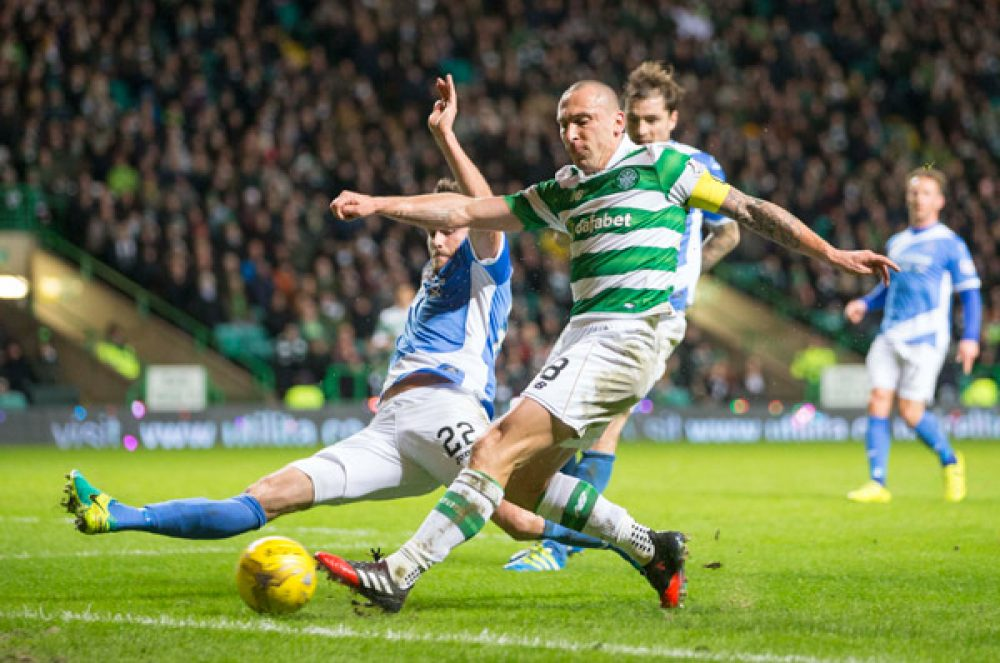 Celtic's Scott Brown Joins The '400 Club'