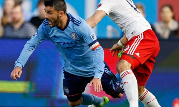NYCFC Tie 2-2 With Revs