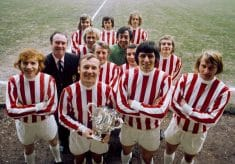 Stoke City: Then & Now
