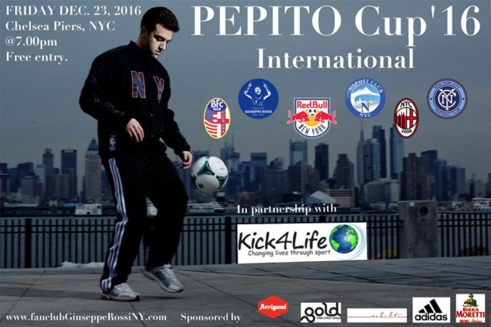 Giuseppe Rossi's NYC Tournament Is This Friday At Chelsea Piers