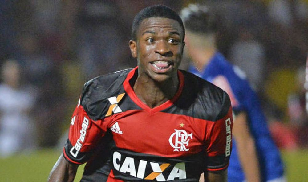 Real Madrid Sign Wonder Kid Vinicius Junior