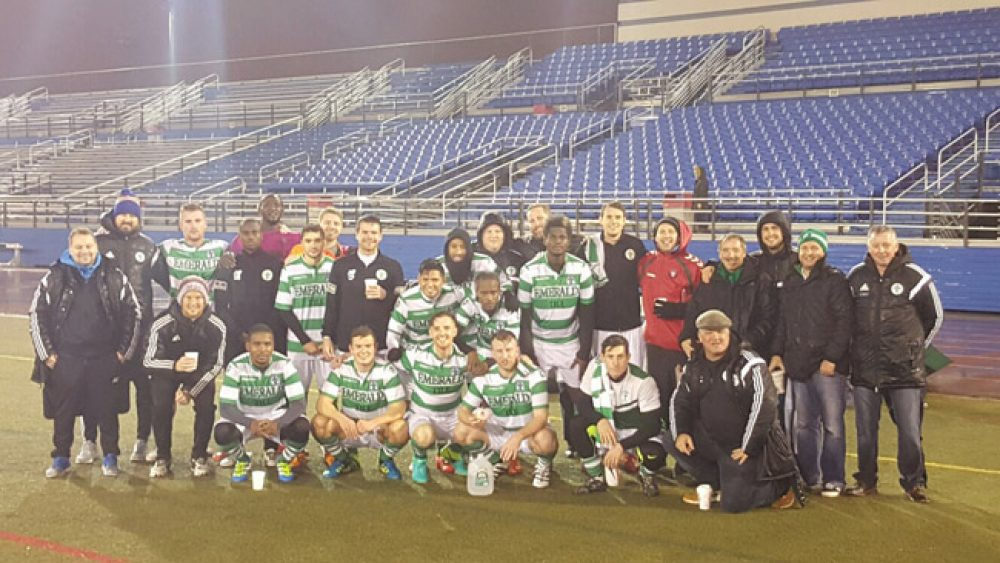 Lansdowne Bhoys Enjoy Goal Fest, Shamrocks Advance