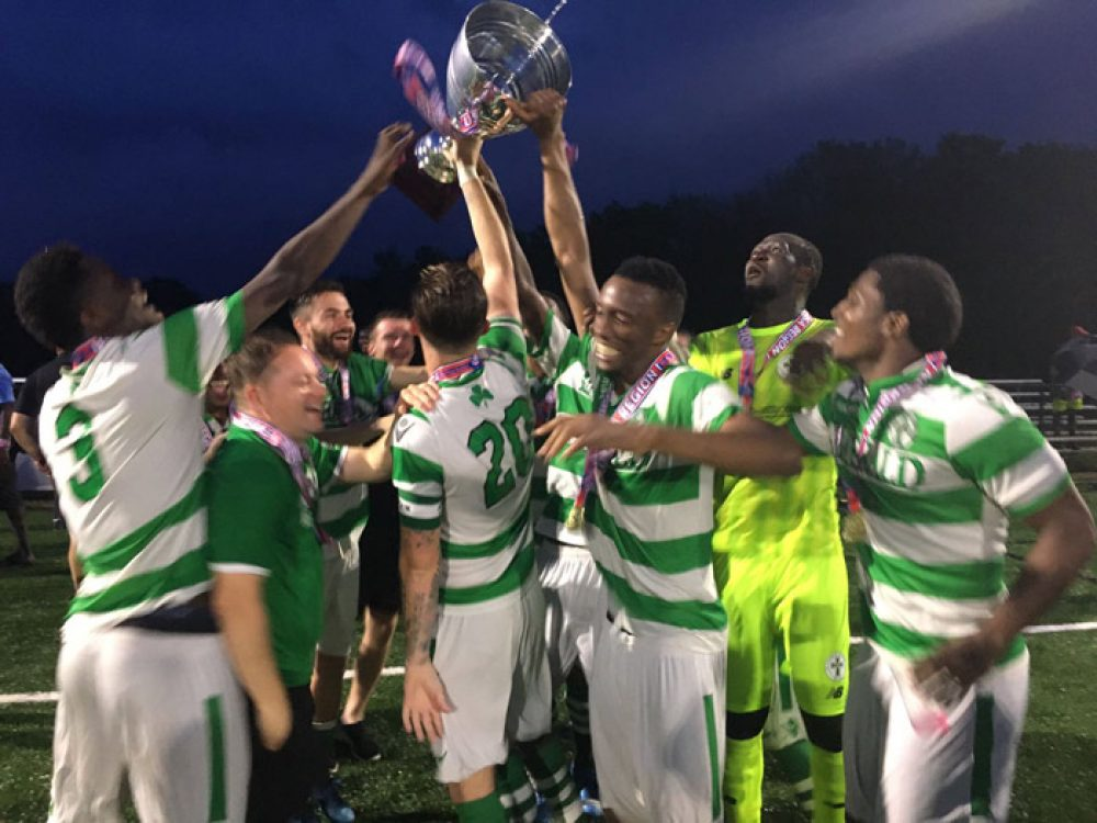 Lansdowne Bhoys Look For Further National Glory vs Eric Wynalda's Wolves