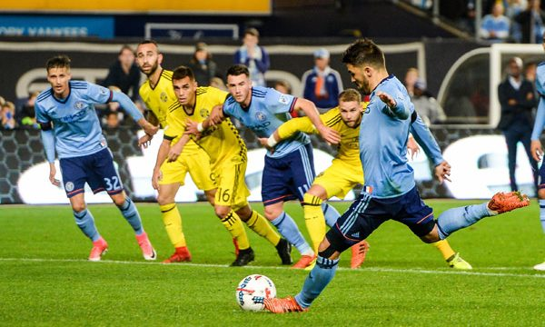 NYCFC Knocked Out Of Play Offs Despite 2-0 Win At Yankee Stadium