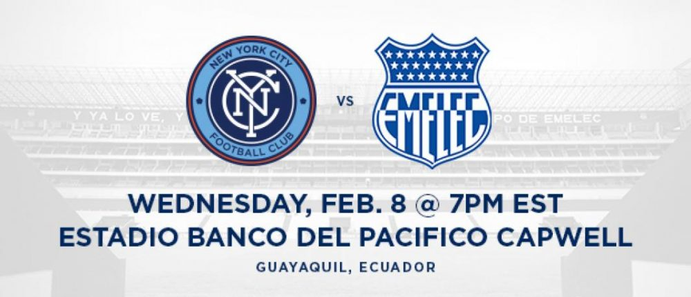 NYCFC To Play Friendly In Ecuador In February