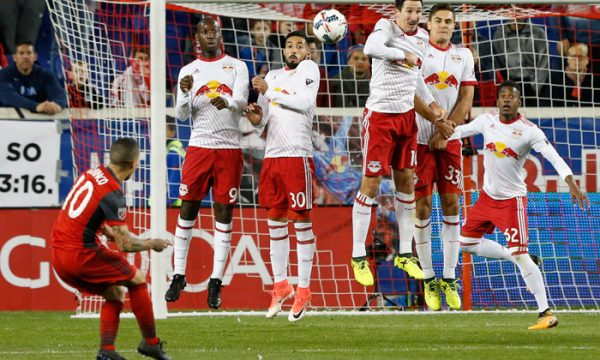 Red Bull Lose Semi Final 1st Leg 2-1 Against Toronto