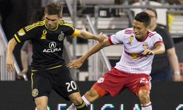NY Red Bulls Fall 3-2 To Columbus Crew