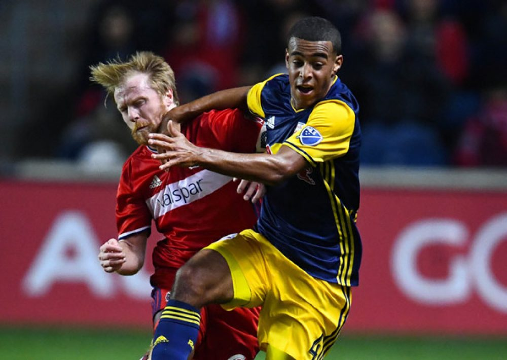 NY Red Bulls Stun Chicago Fire To Advance In Play-Offs