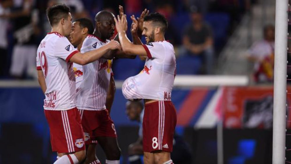 Red Bulls Clinch Play Off Spot With 3-0 Win Over Vancouver