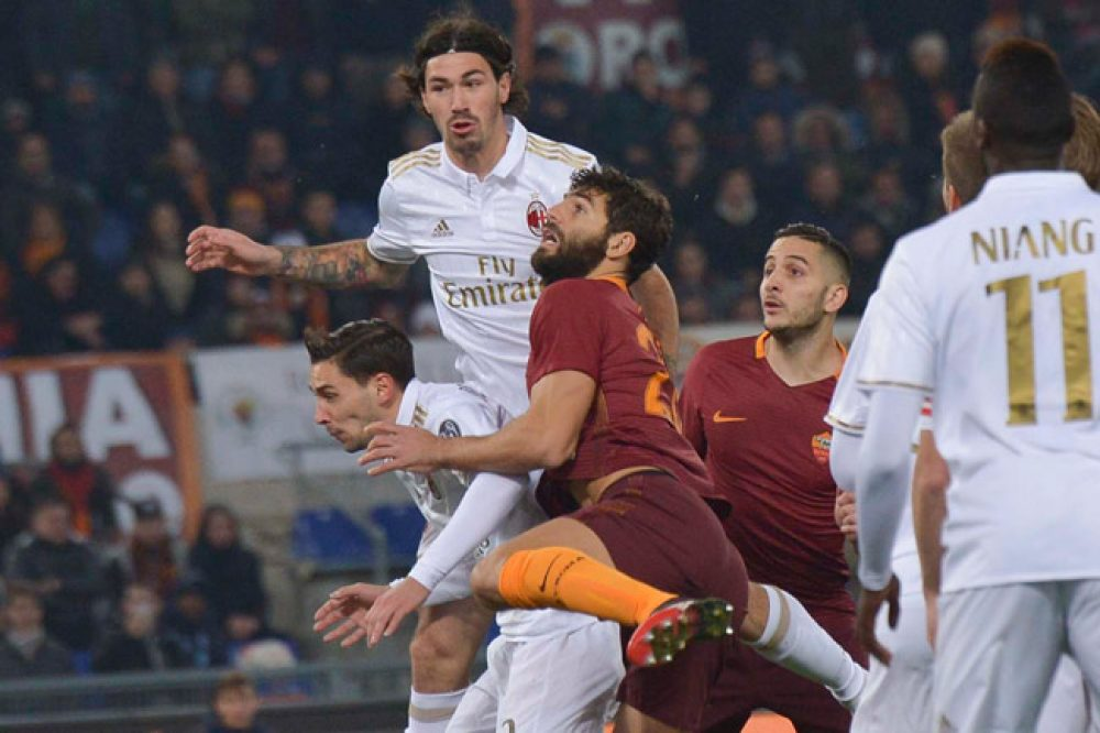 Roma Home In On Juventus After Beating Milan